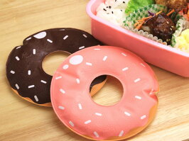 《天満紙器》保冷剤ドーナツ(チョコ)、お弁当、冷却グッズ、ランチ、ケーキ、クールジェル、