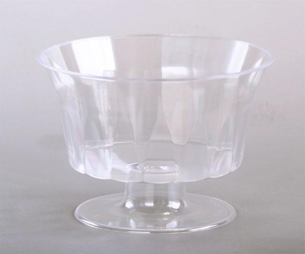 AS-101 SHデザートカップ160cc無地プチカップ 20枚プリン型・プラスチック・カップ・プリンカップ・ゼリー・容器・お菓子・手作り・製菓用品