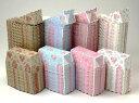 CoPA ミニパウンドトレー(ロマンスフラワー)アソート100枚(4色×25枚)パウンドケーキ・パウンドトレー・ベーキングトレー・紙製・パウンド型・お菓子・手作り・製菓用品