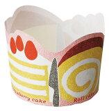 M452エンジョイマフィン(ケーキ)・50枚マフィンカップ・マフィン型・ベーキングカップ・紙製・焼型・ケーキカップ・ギフト・プレゼント・お菓子・手作り・製菓用品