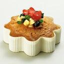 【ベーキングカップ】【紙製】【焼型】デコレーションケーキ ホールケーキ 型 お菓子 手作り 製菓用品 フラワーファンシー 白無地 100枚
