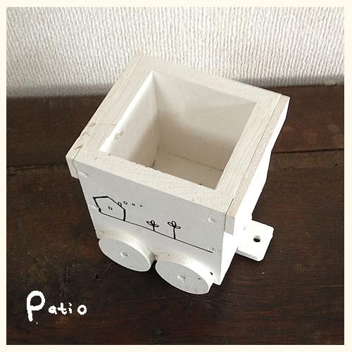 貨車プランター3号【鉢】【木製】【おしゃれ】の紹介画像3
