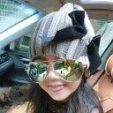 【ニット帽子】リボン付きニット帽子!オシャレで可愛い【キッズ 帽子】【キッズ 帽子 女の子】【耳あて付き帽子】【ニット帽】