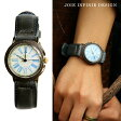 【受注販売】【送料無料】 JOIE INFINIE DESIGN [ジョイ・アンフィニィ・デザイン] 時計 -ANT-BLUE- 日本製 made in japan アンティークデザイン レザー ベルト ( 腕時計 メンズ レディース)