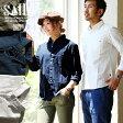 【送料無料】 SAIL [セイル] 長袖 日本製 無地 シャツ ワンポイント ソフトリネン コットンオックス 生地 メンズ レディース 綿 麻 ホワイト ネイビー 紺 オリーブ 白 大きいサイズ 大きめ 涼しい
