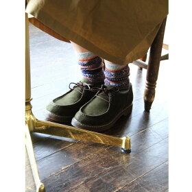 9)【送料無料】RinClover[リン・クローバー]フェイクスウェード素材ワラビーシューズ靴レディース秋色ブラウンカーキオリーブ緑MサイズLサイズLLサイズ23.0センチ23.5センチ24.0センチ24.5センチ秋物冬物フェイクスエード
