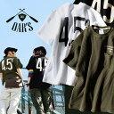 オールズ Tシャツ ワッフル プリント レディース ブラック ホワイト
