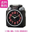 LANDEXランデックス 大音量目覚まし時計 ガチベル アナログ表示 ブラック YT5243BK
