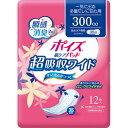 日本製紙クレシア [取寄7]クレシア 新ポイズパッド超吸収ワイド 12枚 ピンク [4901750801526]