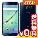 白ロム au 【SIMロック解除済】Galaxy S6 edge SCV31 32GB Black Sapphire[中古Aランク]【当社1ヶ月間保証】 スマホ 中古 本体 送料無料【中古】 【 パソコン&白ロムのイオシス 】