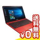 中古パソコン Windows8 【再生品】EeeBook X205TA X205TA-B-RED 中古ノートパソコン Celeron 11.6インチ 送料無料 当社3ヶ月間保証 B5 【 パソコン&白ロムのイオシス 】