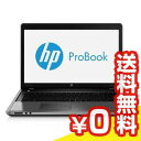 中古ノートパソコン HP HP ProBook 4740s B6R96AV Core i3 6GB 320GB MULTI Windows7