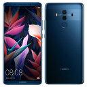 SIMフリー 未使用 Huawei Mate 10 Pro BLA-L29 Midnight Blue【国内版SIMフリー】【当社6ヶ月保証】 スマホ 中古 本...