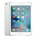 白ロム iPad mini4 Wi-Fi Cellular (MK732J/A) 64GB シルバー[中古Bランク]【当社1ヶ月間保証】 タブレット au 中古 本体 送料無料【中古】 【 中古スマホとタブレット販売のイオシス 】