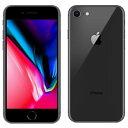白ロム au 未使用 iPhone8 64GB A1906 (MQ782J/A) スペースグレイ  スマホ 中古 本体 送料無料