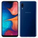 SIMе╒еъб╝ ╠д╗╚═╤ Samsung Galaxy A20 Dual-SIM SM-A205FD б┌3GB 32GB Deep Blue │д│░╚╟ SIMе╒еъб╝б█б┌┼Ў╝╥6еЎ╖ю╩▌╛┌б█ е╣е▐е█ ├ц╕┼ ╦▄┬╬ ┴ў╬┴╠╡╬┴б┌├ц╕┼б█ б┌ ├ц╕┼е╣е▐е█д╚е┐е╓еье├е╚╚╬╟фд╬едеке╖е╣ б█