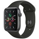 【送料無料】当社6ヶ月保証[未使用品]■Apple Apple Watch Series5 44mm GPSモデル MWVF2J/A A2093【スペースグレイアルミニウムケース/..
