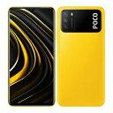 Xiaomi POCO M3 Dual-SIM [POCO Yellow 4GB 128GB 海外版 SIMフリー] Xiaomi (小米) 当社3ヶ月間保証 中古 【 中古スマホとタブレット販売のイオシス 】