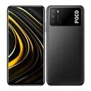 Xiaomi POCO M3 Dual-SIM [Power Black 4GB 128GB 海外版 SIMフリー] Xiaomi (小米) 当社6ヶ月保証 未使用 【 中古スマホとタブレット販売のイオシス 】