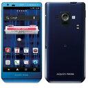 白ロム docomo AQUOS PHONE ZETA SH-02E Blue[中古Cランク]【当社1ヶ月間保証】 スマホ 中古 本体 送料無料【中古】 【 パソコン&白ロムのイオシス 】