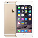 白ロム docomo 未使用 iPhone6 Plus 16GB A1524 (MGAA2J/A) ゴールド【当社6ヶ月保証】 スマホ 中古 本体 送料無料【中古】 【 中古スマホとタブレット販売のイオシス 】