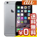 白ロム au 未使用 iPhone6 16GB A1586(MG472J/A) スペースグレイ【当社6ヶ月保証】 スマホ 中古 本体 送料無料【中古】 【 中古スマホとタブレット販売のイオシス 】