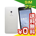 SIMフリー ASUS ZenFone5 LTE (A500KL) 16GB White【国内版 SIMフリー】[中古Bランク]【当社1ヶ月間保証】 スマホ 中古 本体 送料無料【中古】 【 パソコン&白ロムのイオシス 】