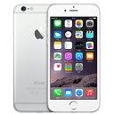 SIMフリー iPhone6 16GB A1586 (MG482J/A) 16GB シルバー【国内版 SIMフリー】[中古Bランク]【当社1ヶ月間保証】 スマホ...