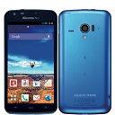 白ロム docomo AQUOS PHONE ZETA SH-06E Blue[中古Cランク]【当社1ヶ月間保証】 スマホ 中古 本体 送料無料【中古】 【 パソコン&白ロムのイオシス 】
