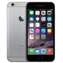 白ロム au iPhone6 16GB A1586(MG472J/A) スペースグレイ[中古Cランク]【当社1ヶ月間保証】 スマホ 中古 本体 送料無料【中古】 【 パソコン&白ロムのイオシス 】