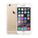 白ロム docomo iPhone6 16GB A1586(MG492J/A) ゴールド スマホ 中古 本体 送料無料