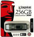 USB DT300/256GB(DataTraveler300・256GB!・Kingston国内5年保証)