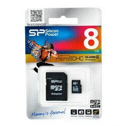microSDHCSP008GBSTH010V10-SP(8GB��Class10�������ץ����ա����ꥳ��ѥ�ʵ��ݾ�)