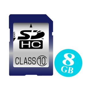 1年保証&Class10【高速SDHCカード8GB】特売品=メーカー選べません