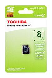東芝・8GB【microSDHCカードSD-C008GR74N000A】Class4・TOSHIBA