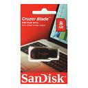 SanDisk・8GB【USBメモリSDCZ50-008G-B35】Cruzer Blade・キャップレス【02P03Dec16】