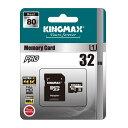 KINGMAX 32GB【microSDHCカードKM32G...