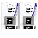 楽天PCグッドメディア楽天市場店HIDISC貴重な2GB【SDカードHDSD2GCLJP3 x2点】お得な2個セット