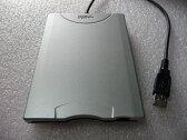 各社メーカー製USB外付けフロッピーFDDディスクドライブUSBバスパワ対応・中古良品(白)[配送無料][代引不可]
