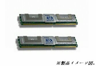 MacPro MA509G/A MA356J/A 動作可 DDR2 FB-DIMM PC2-5300(2Gx2)4GBセット限定品
