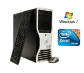 [中古]優良美品 Dell Precision T3500 Xeon W3670 6コア(3.20GHz)12GB新品高速SSD-240GB(DVD/RW)マルチ NVIDIA Quadro2000搭載Wind 7 Pro 64bitリカバリ済[配送無料]
