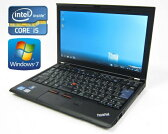 中古美品Lenovo ThinkPad X220(42873LJ)Corei5-2520M 2.50GHz/4GB/320GB 12.5WT Windows7-Pro 32Bitリカバリ領域有(無線LAN内蔵)(配送無料)