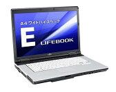 【中古】美品 富士通LIFEBOOK E741/D Corei5-2520M(2.50GHz)4GB/250GB(DVD-ROM)15.6WT型Wind 7 Pro 32bit領域有[配送無料]無線LAN搭載