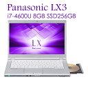 Panasonic Let's note CF-LX3 パナ...