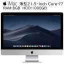 iMac 薄型21.5-inch Core-i7 3770s...