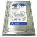 2017年産 WD BLUE 1TB ハードディスク WD10EZEX SATA 64MB Cache 7200rpm 使用時間短 3.5インチHDD