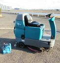 【送料無料】 バッテリー式 乗車型 スクラバー T7 テナント 2009 清掃 業務 床洗浄 中古 お客様荷下ろし 【見学 仙台】
