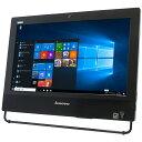 Lenovo ThinkCentre M73z 10BB0017JPALL-IN-ONE PC シリーズ20型ワイド HD+【Core i5 4570S/4GB/500GB/USB3.0】【MULTI/Wi-Fi/内蔵カメ..