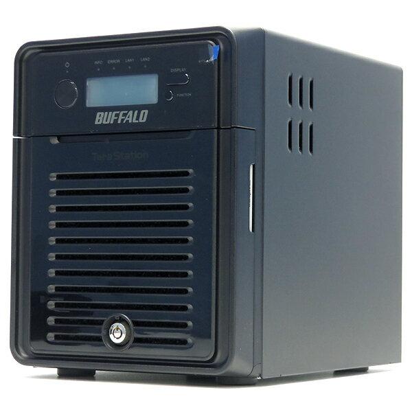 BUFFALO TS3400D0404 TS3400Dシリーズ【中古】【NAS】【ネットワーク対応HDD】
