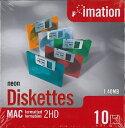 imation 3.5型 カラーフロッピーディスク 40枚セット(10枚組紙箱入り×4)MAC用